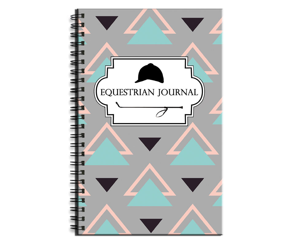 Horse rider's journal from Equestrian Creations