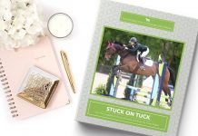 Horse rider's journal from The Printable Pony