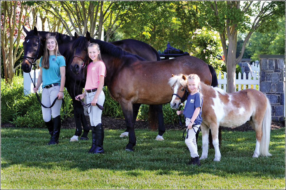 American Pony Outfitters founders with their horses