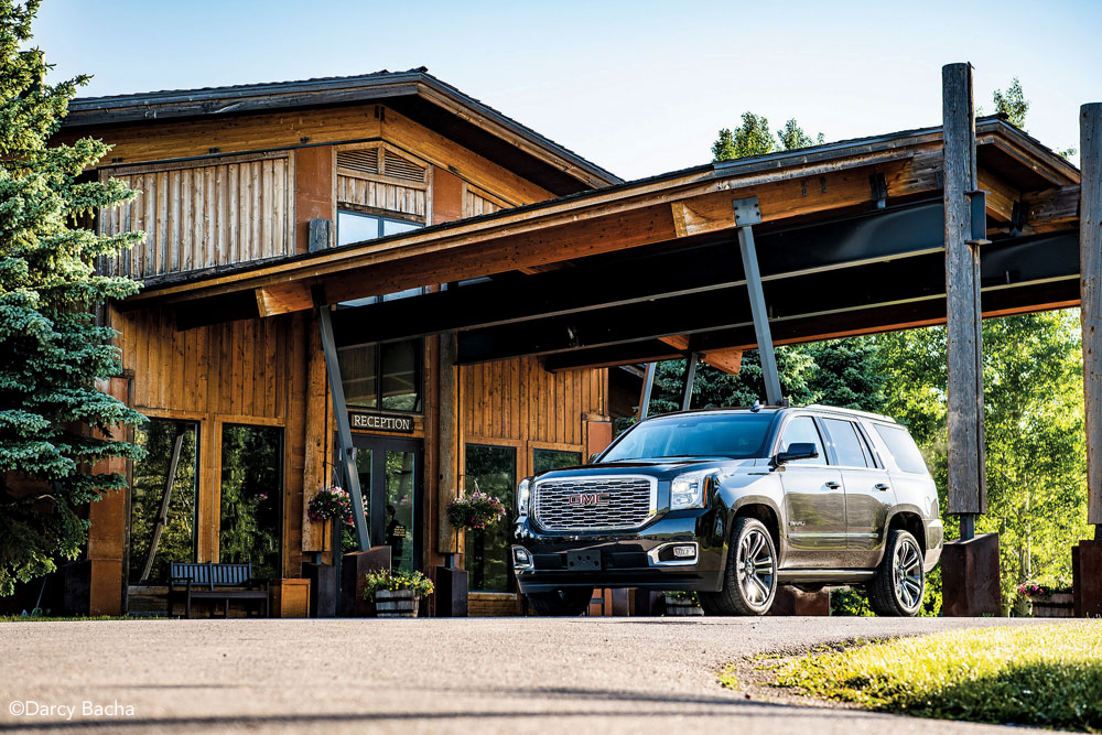 GMC Yukon Denali at Spring Creek Ranch