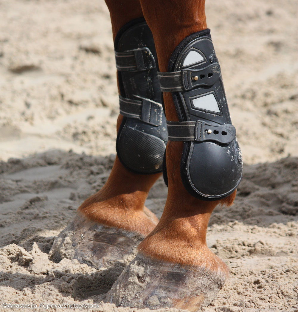 Open-front jumping boots