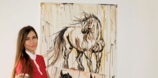 Equine artist Kasia Bukowska
