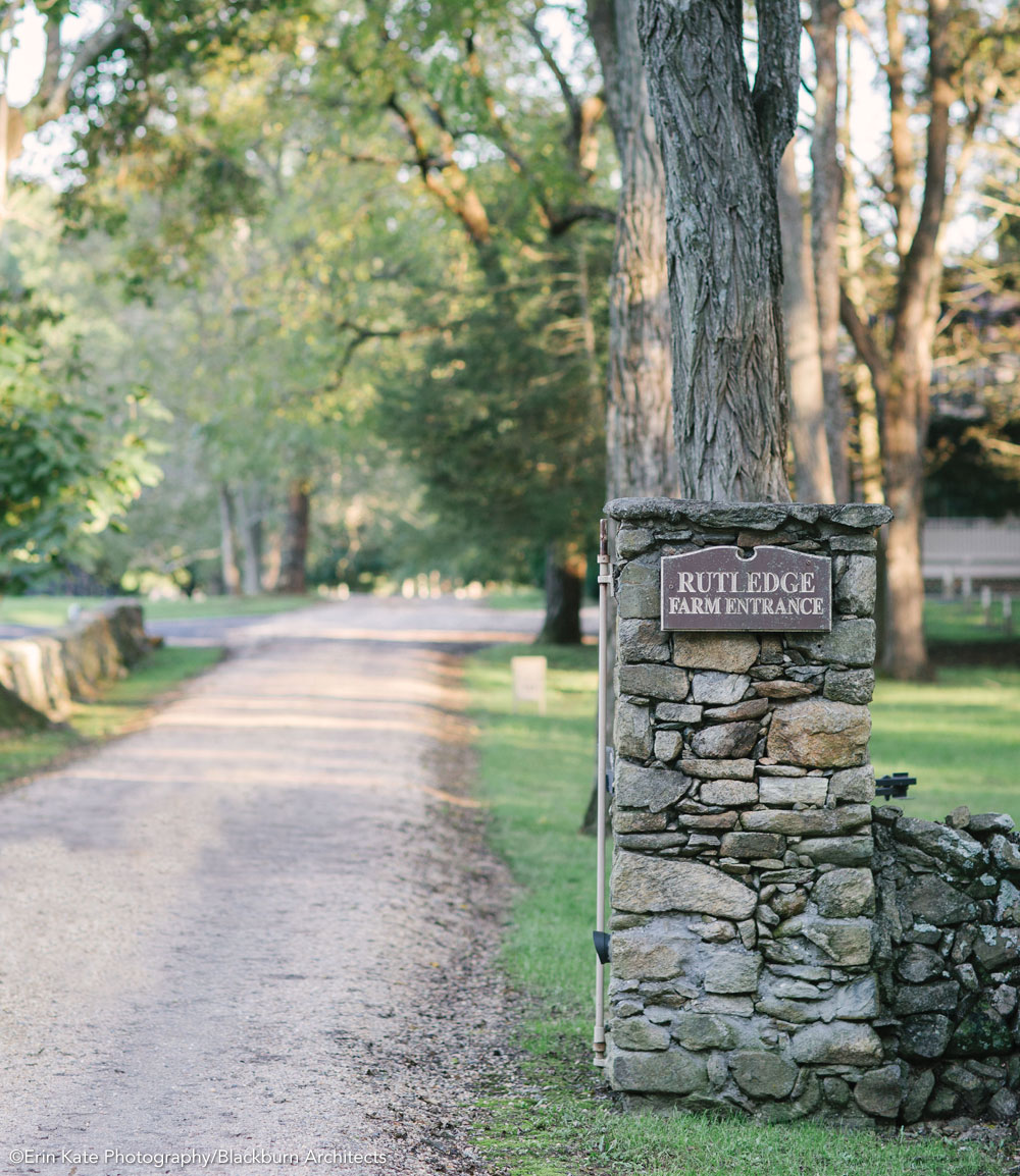 Entrance to Rutledge Farm