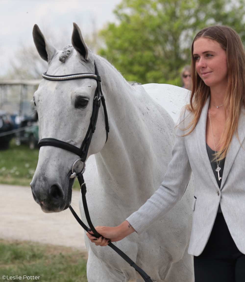 Caroline Martin (USA) and Islandwood Captain Jack, an Irish Sport Horse gelding.