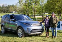 Land Rover course tour with Captain Mark Phillips