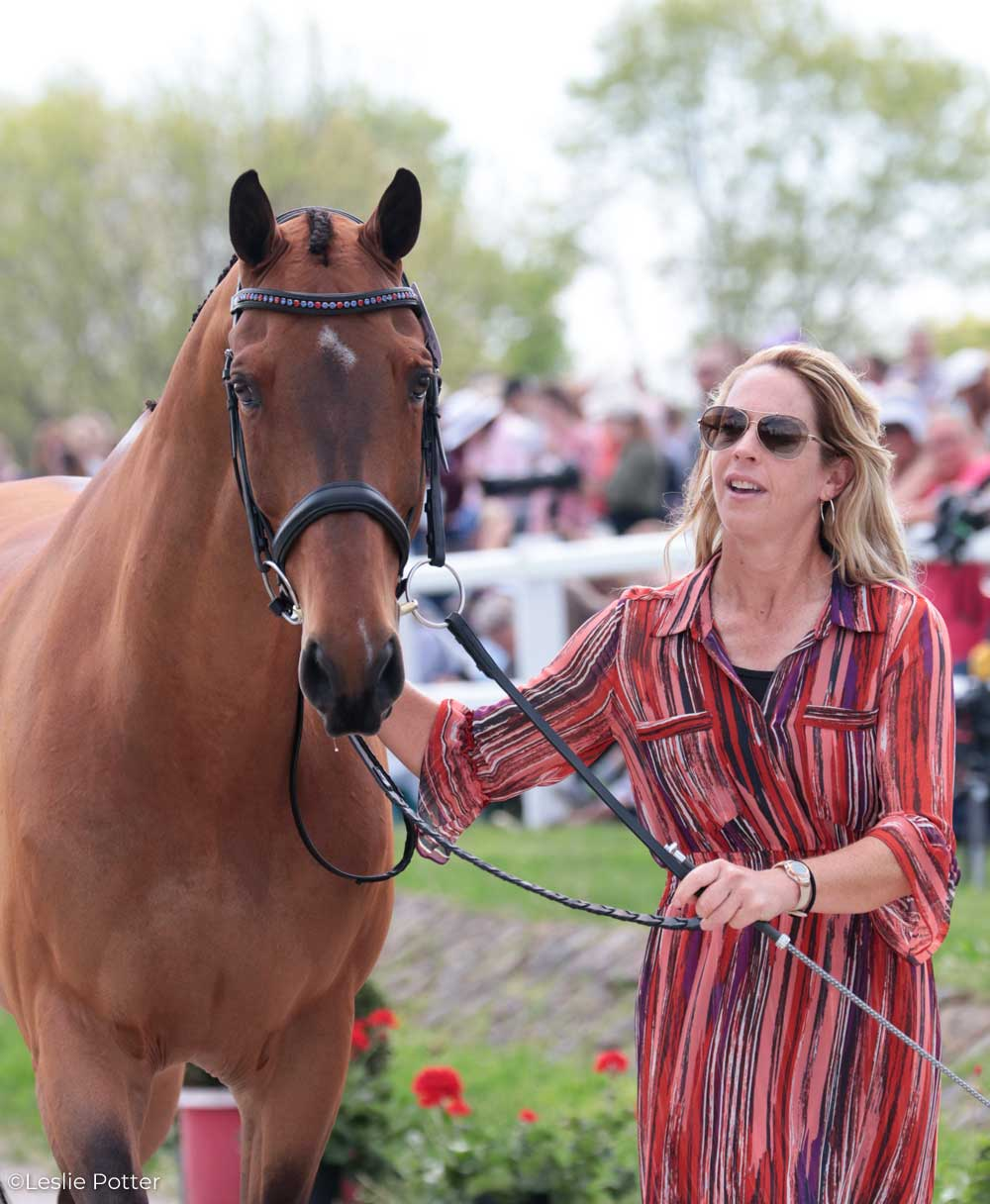 Mara Depuy (USA) and Congo Brazzaville C, a KWPN gelding