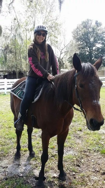 Crystal, a Standardbred mare located at CC's Equine Rescue in Florida