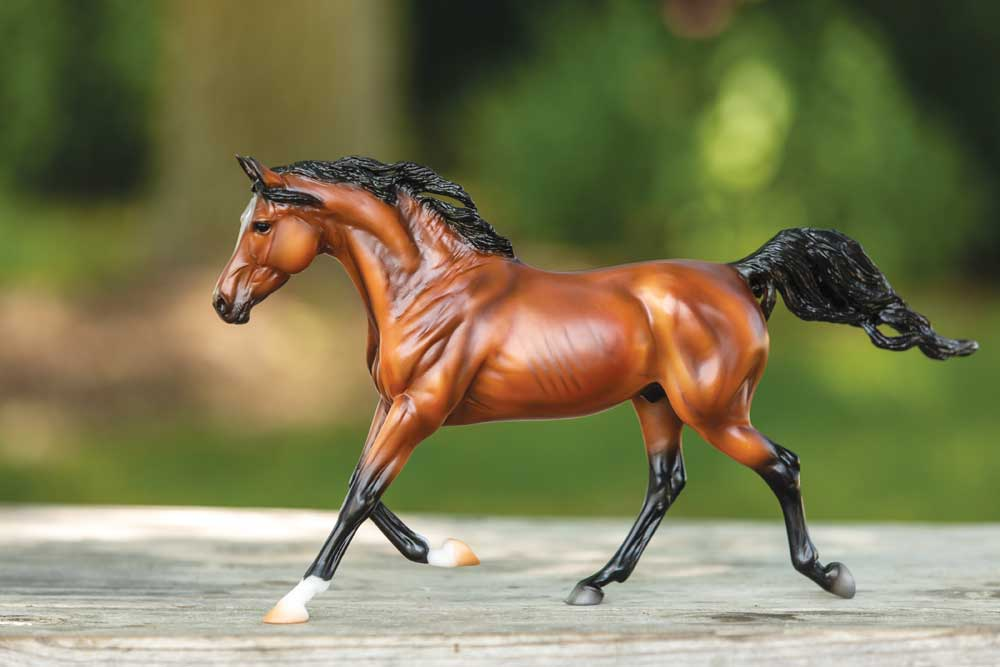 Bay Arabian Breyer model horse