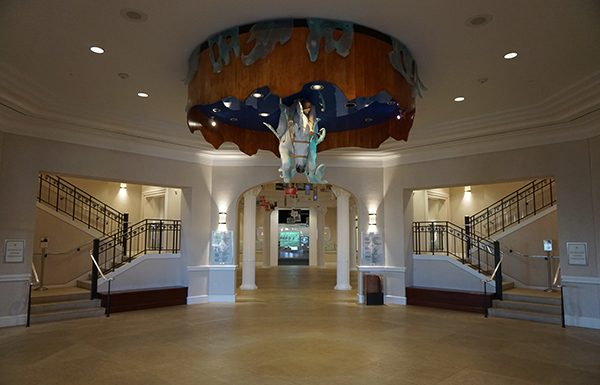 Interior of the National Cowgirl Museum and Hall of Fame.