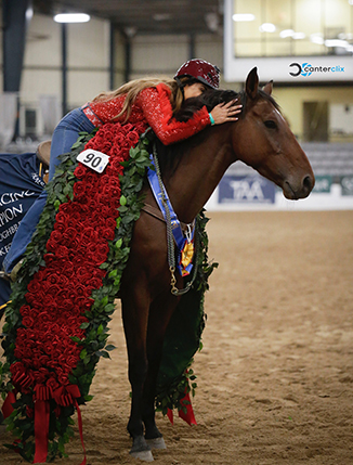 Cowboy Swagger Named 2019 Thoroughbred Makeover Champion With Fallon Taylor