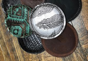 5 Star Equine Leather Coasters