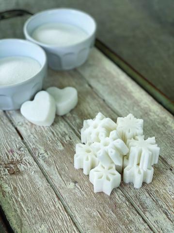Snowflake Horse Sugar Cubes