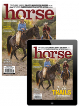 Horse Illustrated August 2021 Print and Digital Combo