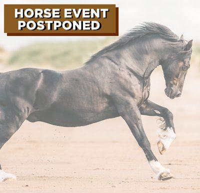Horse Event Postponement Coronavirus