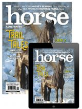 August 2020 Combo (Print and Digital Issues) of Horse Illustrated