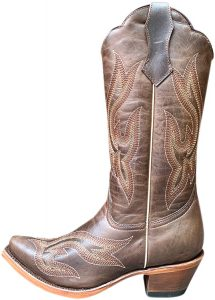 Tall and Brown Cowboy Boots