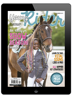 Young Rider Summer 2021 Digital Issue