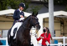 Adrienne Lyle and Salvino Withdraw Tokyo Olympics