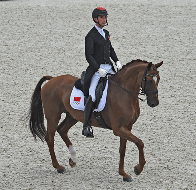 Alex Hua Tian - Don Geniro - Eventing - Olympic Games