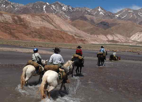 Andes Mountains - Choosing a Riding Vacation