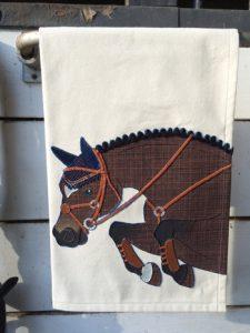 Artful Equine Tea Towel