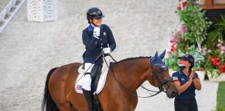 Beatrice de Lavalette and Clarc - Para Dressage Grand Prix at the Tokyo Paralympic Games