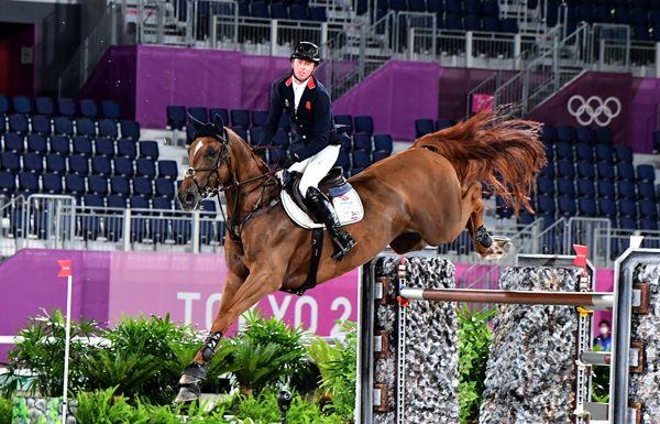 Ben Maher of Great Britain captured the individual gold medal in show jumping at the Olympic Games Tokyo 2020.