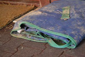 Folded Horse Blanket