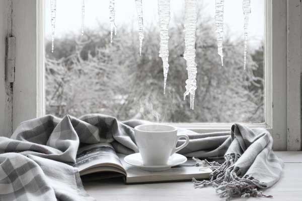 Winter Reading with a Mug