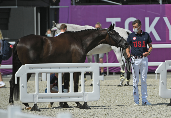 Boyd Martin - Eventing Team USA - First Horse Inspection