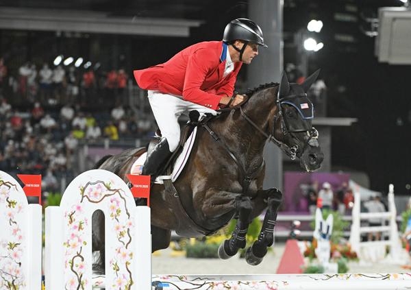 Boyd Martin and Tsetserleg - Tokyo Olympics Eventing Show Jumping