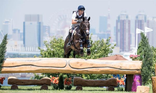 Boyd Martin and Tsetserleg Cross-Country - Tokyo Olympics
