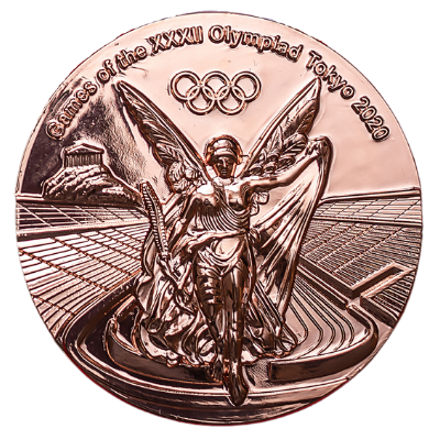 Olympic Games Tokyo 2020 Bronze Medal