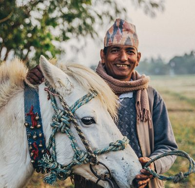 Horse owner in Nepal - Brooke and Brooke USA
