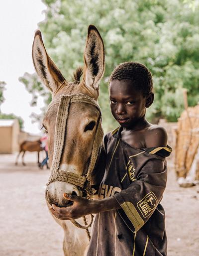 Boy in Senegal