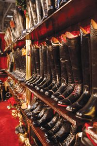 Boots at Royal Agricultural Winter Fair
