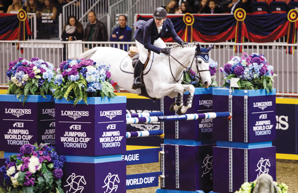 McLain Ward at the 2018 Royal