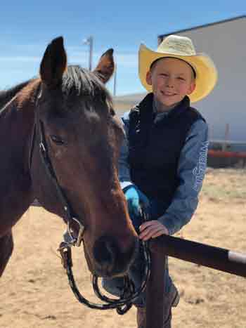 Carter Sheldon and Sonny - Rehoming Ranch Horses
