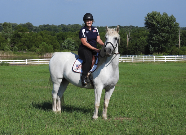 Hard to Adopt Horses - Cathie Chiccine and Ozzie