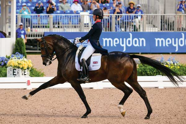Charlotte Dujardin and Mount St. John Freestyle
