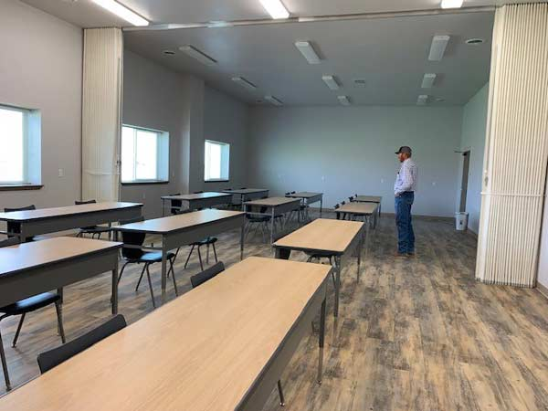 Classrooms at the Montana Center for Natural Horsemanship