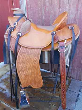 Clay Sharp Western Saddle