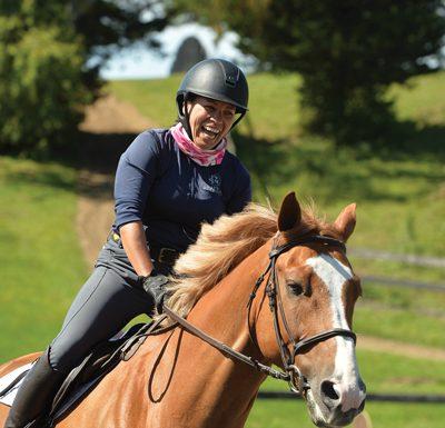 Rider with runaway - Bolder Braver Brighter