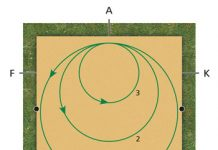 Diagram - Dressage Exercise Circle
