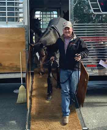 DJ Johnson Horse Transportation Driver - horse career without diploma