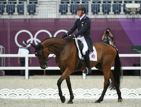 Doug Payne - Vandiver - Eventing Dressage - Tokyo Olympics