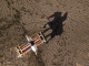 Drone Photography of a Horse Jumping