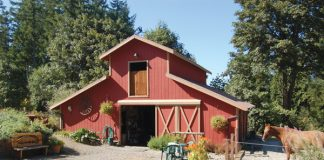 Eco-Friendly Horsekeeping - Pretty Red Barn