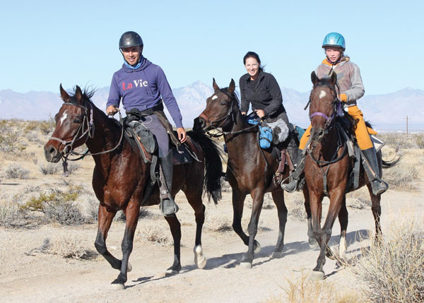 Endurance Riders from Love This Horse Equine Rescue