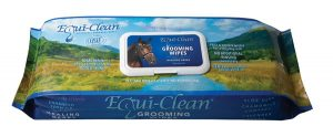 Horse grooming wipes - Equi Clean package picture.